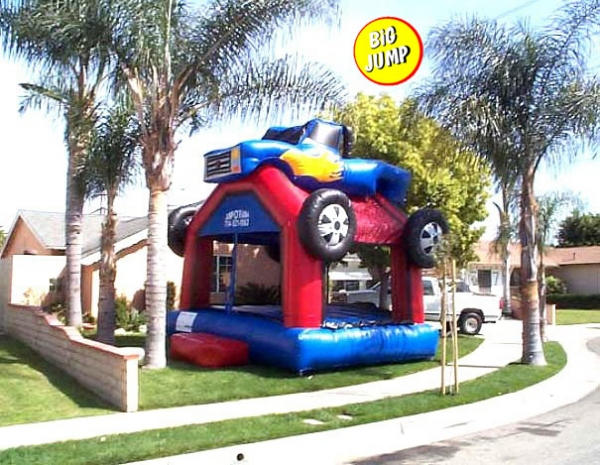 Camioneta Inflable
